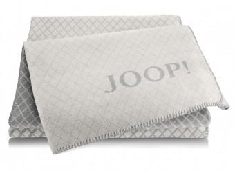 Joop!-Plaid-Diamond-rauch-graphit