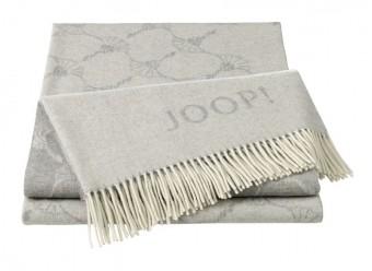 Joop!-Plaid-Faded-Cornflower-graphit