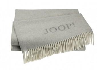 Joop!-Plaid-Fine-Doubleface-graphit-rauch