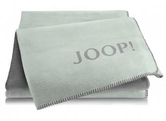Joop!-Plaid-Melange-Doubleface-mint-schiefer