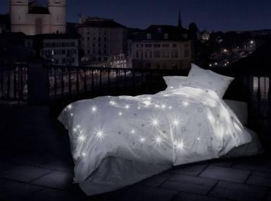 Vorschaubild schlossberg bettwaesche celeste satin blanc