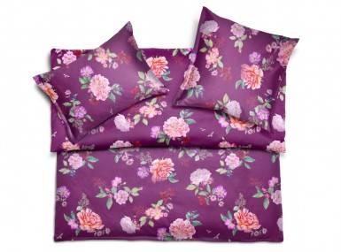Vorschaubild schlossberg bettwaesche rosa jersey viola