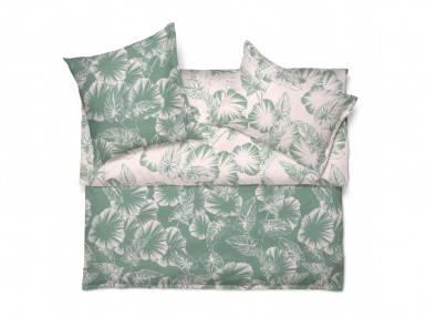 Vorschaubild schlossberg bettwaesche somnia leaf vert