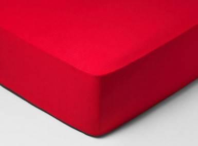 Vorschaubild schlossberg spannbettlaken jersey scarlet