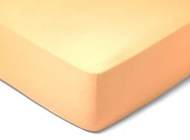 Vorschaubild schlossberg spannbettlaken satin caramel