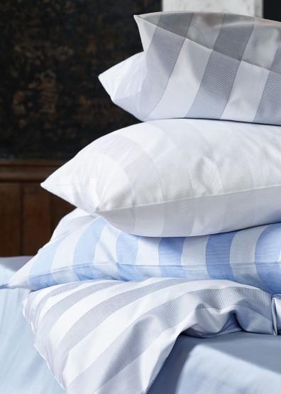 Streifen Bettwäsche Passion - Bunt gewebte Blockstreifen