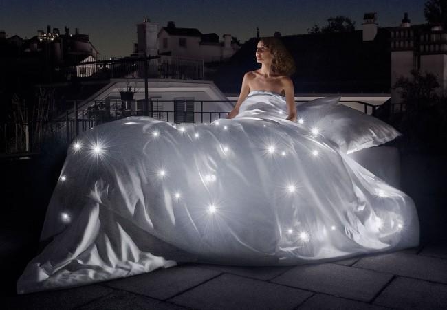 Diese Schlossberg Bettwäsche wird auch Sie verzaubern: Celeste mit LEDs